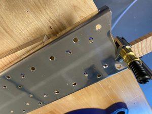 header image for Vertical stabilizer spar preparation