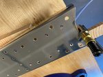 Vertical stabilizer spar preparation