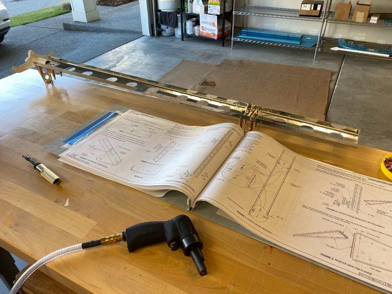 header image for 7-02 rudder spar and 7-03 hinge alignment