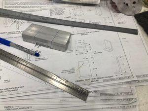 header image for Log: Horizontal Stabilizer - Rough work on attachment brackets