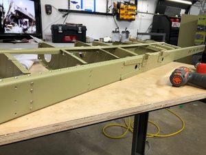 header image for Log: Horizontal Stabilizer - Assembly