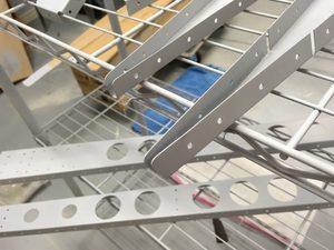 header image for elevator spars and parts re-primed
