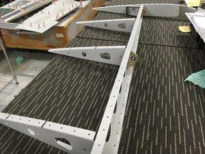 header image for Riveting rudder internals