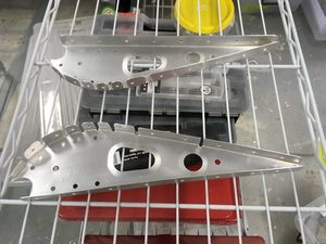 header image for Rerivet aileron ribs 2 and manufacture doubler