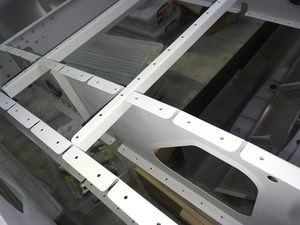 header image for Wing ribs 4 and 9 round flange corners