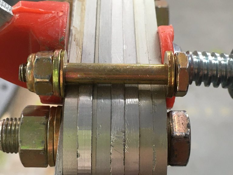 header image for Second re-bolt of main wing spar with close tolerance bolts