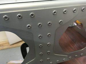 header image for Add missing rivets in wing main spar holes