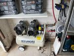 6June21 - Compressor and air line set up