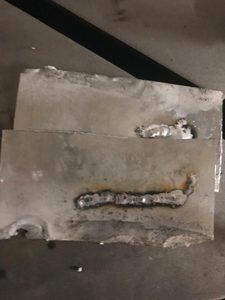 header image for Learning TIG aluminum welding