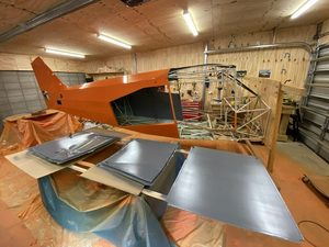 header image for Painting cargo doors interior