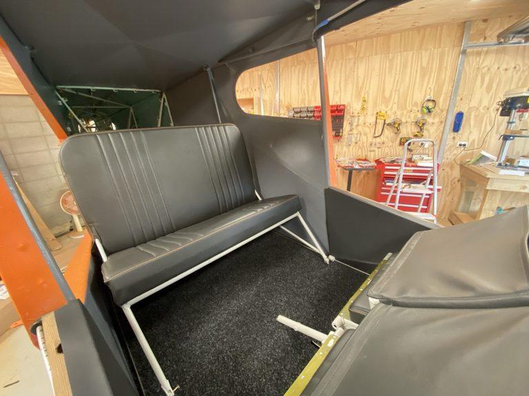 header image for Rear seat, fuel sight gauges, baffles
