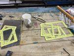 Inspection port frames