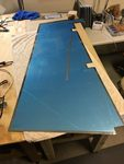 Prepping Rudder Parts and Skins