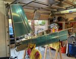 Rear Deck Complete/Rudder Mounting Match Drilled