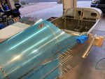 Riveting Fuselage Sections
