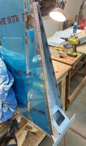 header image for Rudder Nutplates Installed