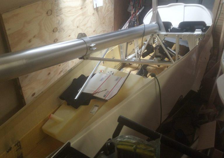 header image for Boom tube/aft fuselage